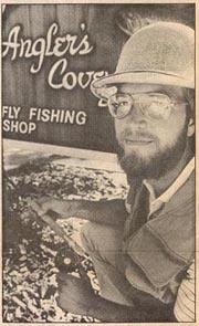 Vintage image of Kent Brekke, the founder of Angler's Covey